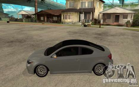 Scion tC - Stock для GTA San Andreas вид слева