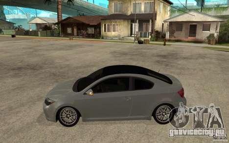 Scion tC - Stock для GTA San Andreas вид слева