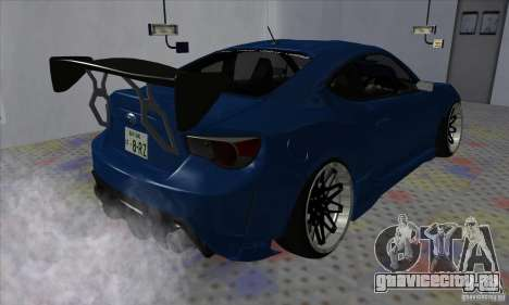 Subaru BRZ JDM для GTA San Andreas вид справа