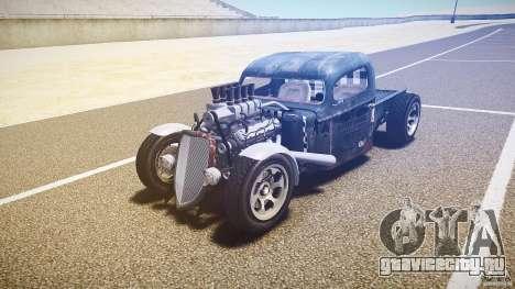 Ford Ratrod 1936 для GTA 4 вид сзади