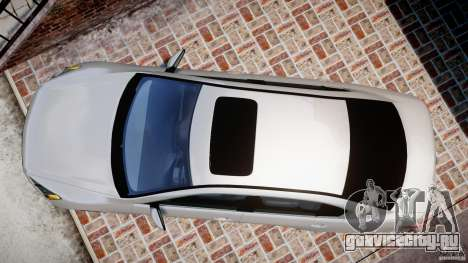 Honda Accord 2009 для GTA 4 вид справа