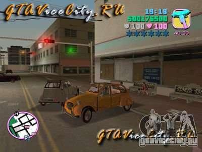 Citroen 2CV для GTA Vice City