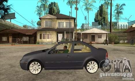 Volkswagen Bora VR6 4MOTION для GTA San Andreas вид слева