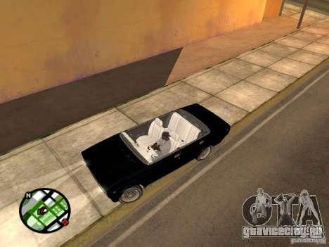 Ваз 2105 Кабриолет v1.3 для GTA San Andreas вид слева