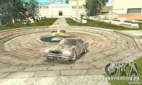 Plymouth Roadrunner 383 для GTA San Andreas вид сбоку