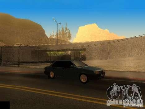 ENB project by jeka для GTA San Andreas второй скриншот