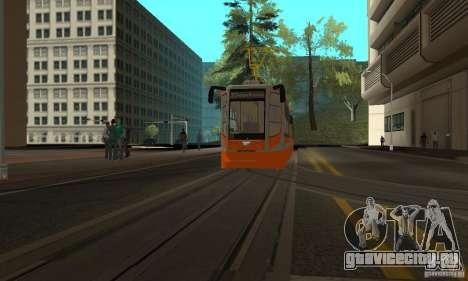 Трамвайный вагон 71-623 для GTA San Andreas вид слева