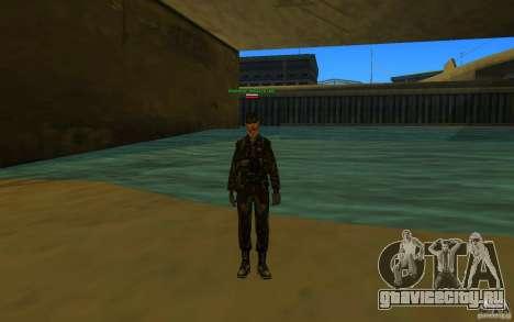 HQ skin Army для GTA San Andreas третий скриншот