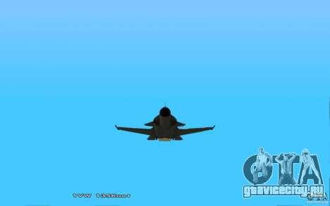 СУ-32 Golden Eagle для GTA San Andreas вид справа