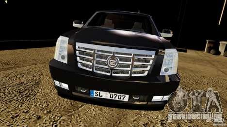 Cadillac Escalade 2007 v3.0 для GTA 4 вид справа
