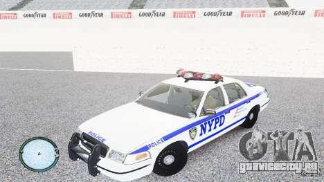 Ford Crown Victoria 2003 NYPD для GTA 4 вид слева