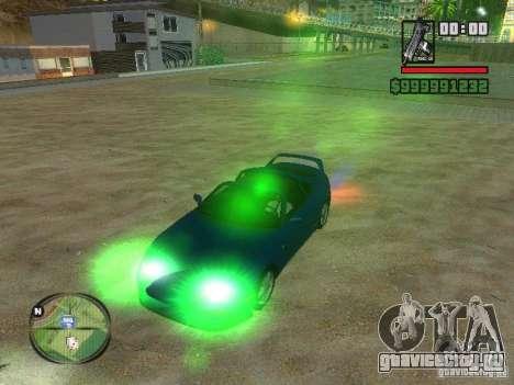 Xenon v3.0 для GTA San Andreas третий скриншот