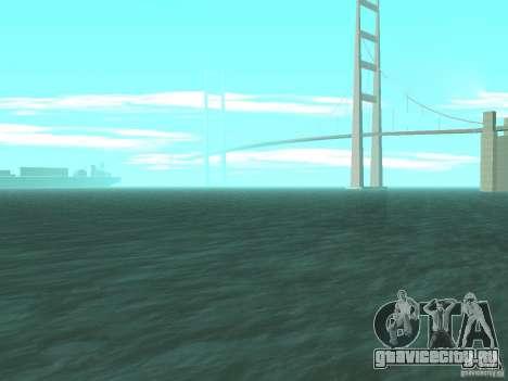Новая Вода для GTA San Andreas