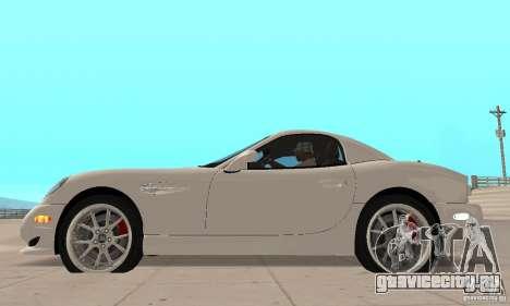 Panoz Esperante GTLM 2005 для GTA San Andreas вид сзади слева