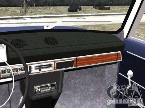 ВАЗ 2101 для GTA 4 вид изнутри