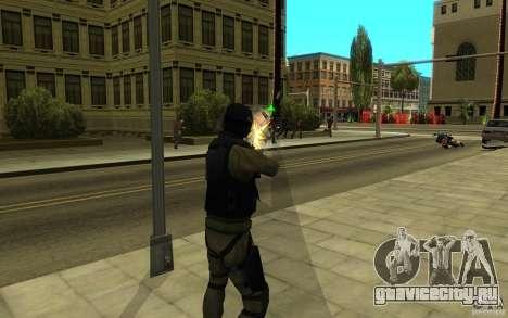 CJ-спецназ для GTA San Andreas восьмой скриншот