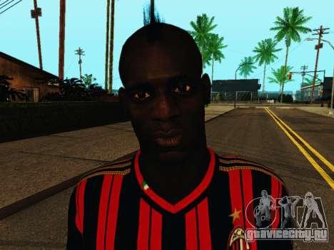 Марио Балотелли v1 для GTA San Andreas шестой скриншот