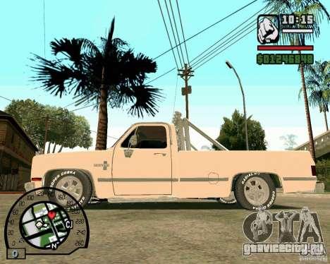Chevrolet Silverado 1985 для GTA San Andreas вид слева