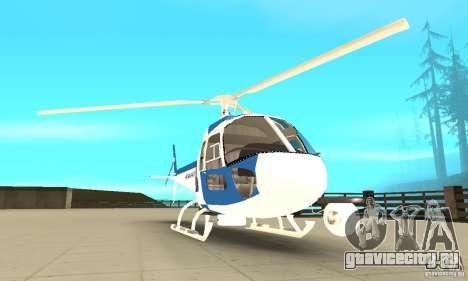 AS-350 Police для GTA San Andreas вид сзади