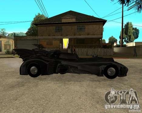 Batmobile для GTA San Andreas вид справа