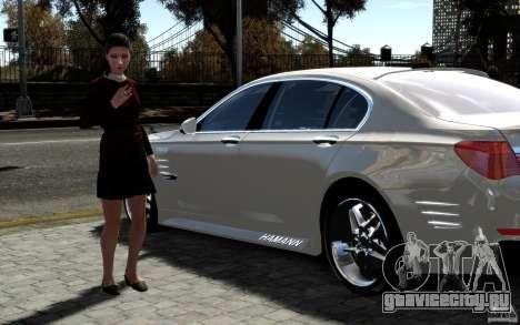 Меню и экраны загрузки BMW HAMANN в GTA 4 для GTA San Andreas восьмой скриншот