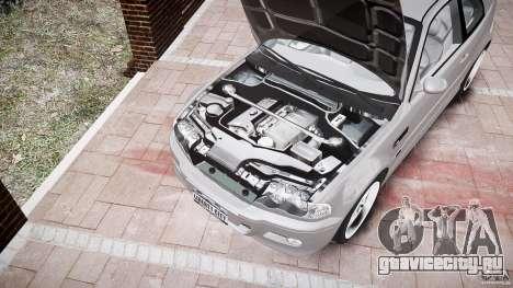 BMW M3 e46 v1.1 для GTA 4 салон