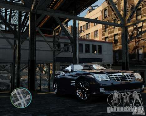 2007 Chrysler Crossfire для GTA 4 вид слева