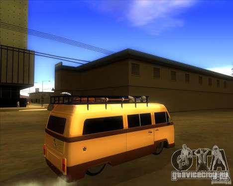 Volkswagen Kombi Classic Retro для GTA San Andreas вид справа