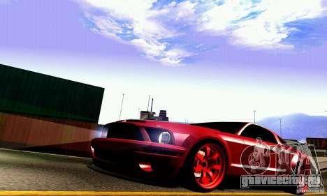 Shelby GT500 KR для GTA San Andreas вид сверху