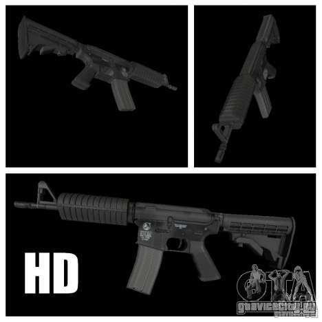 M4 HD для GTA San Andreas