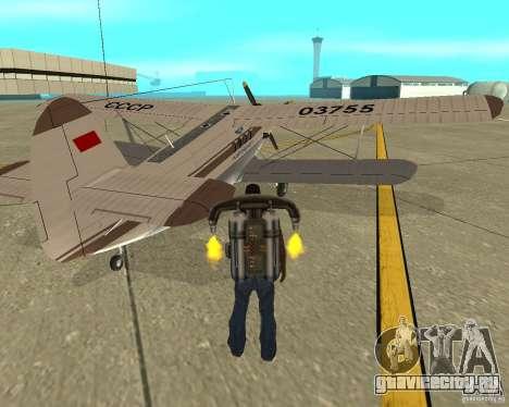 Ан-2 для GTA San Andreas вид сзади слева