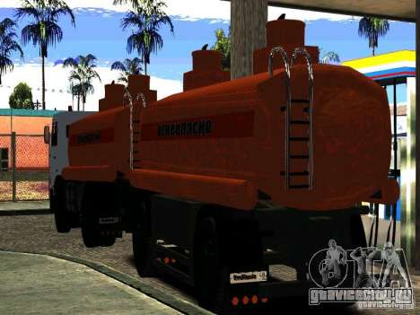 МАЗ 533702 Бензовоз для GTA San Andreas вид справа