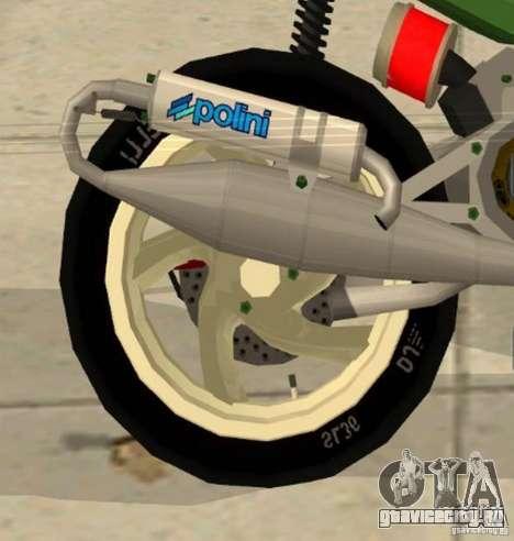 Gilera Runner 50SP Skin 4 для GTA San Andreas вид справа