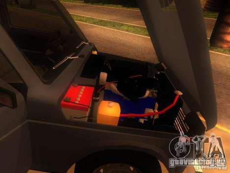 ВАЗ-2131 НИВА для GTA San Andreas вид сзади