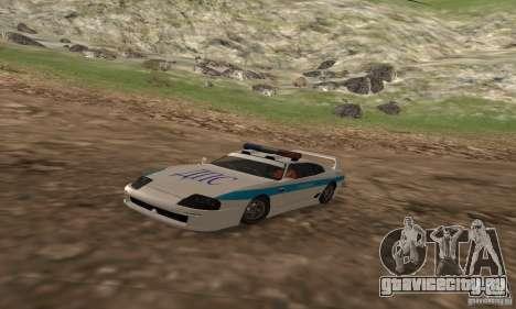 Jester Russian Police для GTA San Andreas
