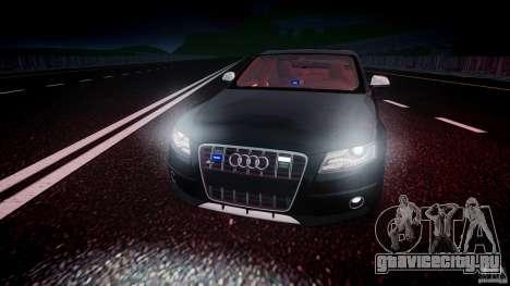 Audi S4 Unmarked [ELS] для GTA 4 вид сверху