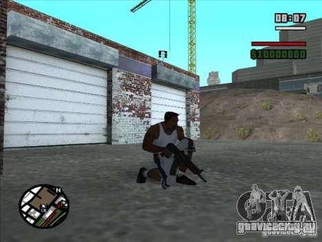 AK-74 (без приклада) для GTA San Andreas