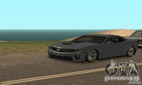 Chevrolet Camaro ZL1 2012 для GTA San Andreas