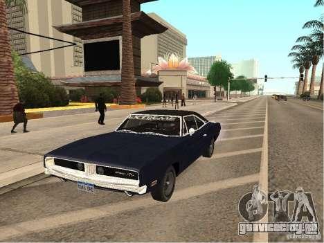 Dodge Charger RT Light Tuning для GTA San Andreas
