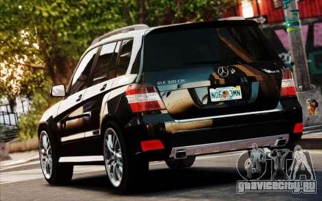 Mercedes-Benz GLK 320 CDI для GTA 4 вид изнутри
