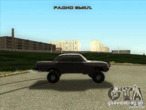 ГАЗ 31029 Волга 4х4 для GTA San Andreas вид сзади слева