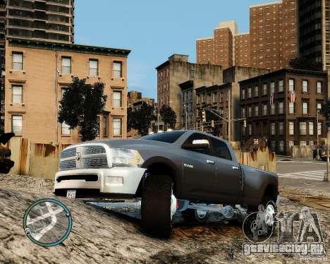 Dodge Ram 3500 Stock для GTA 4 вид слева
