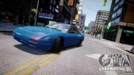 Nissan 240sx v1.0 для GTA 4 вид сверху