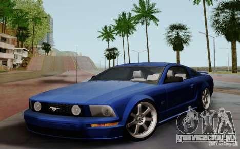 Ford Mustang Twin Turbo для GTA San Andreas