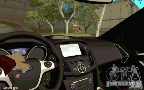 Ford Focus для GTA San Andreas вид сзади слева