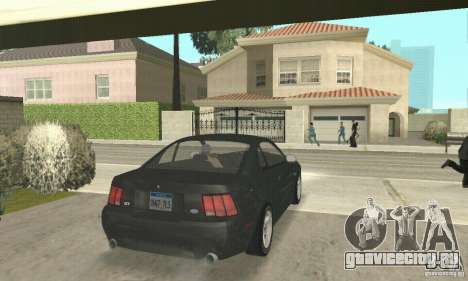 Ford Mustang GT 1999 (3.8 L 190 hp V6) для GTA San Andreas вид слева
