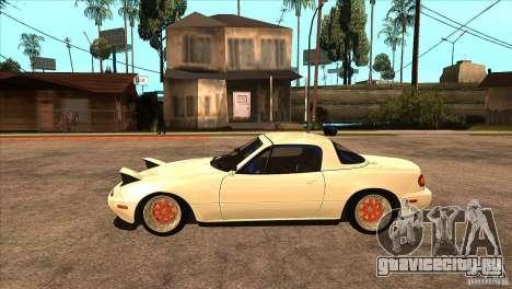 Mazda Miata JDM для GTA San Andreas вид слева