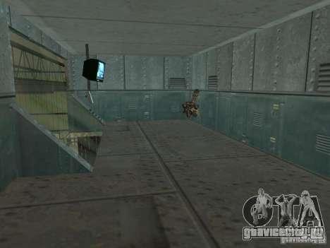 Открытая Зона 69 для GTA San Andreas девятый скриншот
