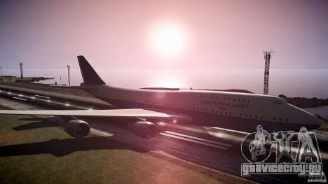 Air Force One v1.0 для GTA 4 вид справа