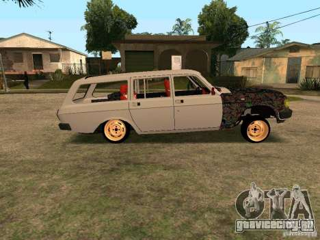 ГАЗ Волга 310221 для GTA San Andreas вид сзади